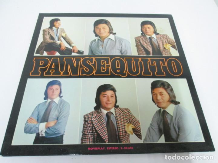 Discos de vinilo: PANSEQUITO. LP VINILO. MOVIEPLAY. 1974. VER FOTOGRAFIAS ADJUNTAS - Foto 2 - 171259139