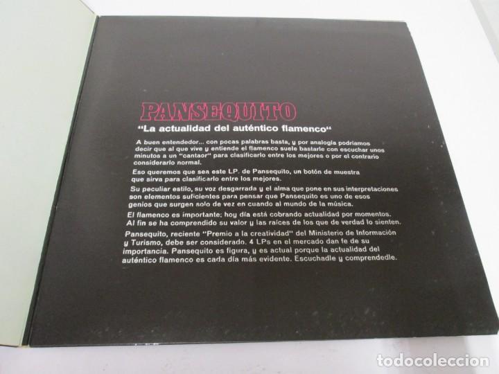 Discos de vinilo: PANSEQUITO. LP VINILO. MOVIEPLAY. 1974. VER FOTOGRAFIAS ADJUNTAS - Foto 3 - 171259139