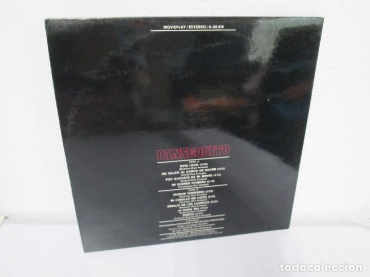 Discos de vinilo: PANSEQUITO. LP VINILO. MOVIEPLAY. 1974. VER FOTOGRAFIAS ADJUNTAS - Foto 10 - 171259139