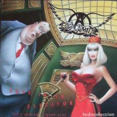 Discos de vinilo: AEROSMITH MAXI LOVE IN A ELEVATOR + DOS TEMAS. Lote 171261739