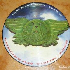 Discos de vinilo: AEROSMITH LP PICTURE DISC TOUR 1988 RAREZA -MOTLEY CRUE-KISS-WASP-METALLICA-RATT-DOKKEN-BON JOVI. Lote 171266118