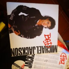 Discos de vinilo: LP MICHAEL JACKSON BAD 1987 EPIC EPC 450290 1. Lote 171269592