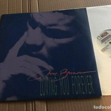 Discos de vinilo: MC BRIAN - LOVING YOU FOREVER - MAXI - HIGH ENERGY 89 - ITALO DISCO. Lote 171278442