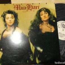 Discos de vinilo: MATA HARI - MATA HARI - MAXI BLANCO Y NEGRO 87 - ITALO DISCO. Lote 171278544