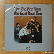 Discos de vinilo: THE COUNT BASIE TRIO - FOR THE FIRST TIME - LP. Lote 171309400
