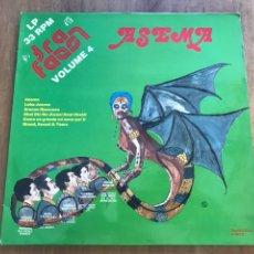Discos de vinilo: ASEMA. VOLUME 4.. Lote 171315293