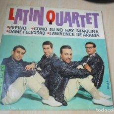 Discos de vinilo: LATIN QUARTET, EP, PEPINO + 3, AÑO 1963. Lote 171333869
