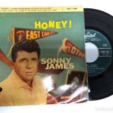 Discos de vinilo: EP SONNY JAMES / HONEY/OVER SOMEBODY ELSE'S SHOULDER/YOU YOU /IF I HAD TALKING EDITADO EN ESPAÑA. Lote 171337270