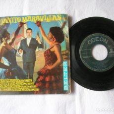 Discos de vinilo: DISCO DE JUANITO MARAVILLAS INCLUYE 4 TEMAS. Lote 171345970