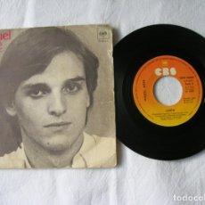 Discos de vinilo: DISCO DE MIGUEL BOSE ,LINDA. Lote 171346389