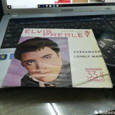 Discos de vinilo: ELVIS PRESLEY SINGLE SURRENDER ESPAÑA 1961. Lote 171346868