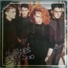 Discos de vinilo: HEROES DEL SILENCIO. HÉROE DE LEYENDA. EMI-ODEON, SPAIN 1987 MAXI-LP (056-7482901). Lote 171357002