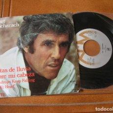 Discos de vinilo: DISCO DE BURT BACHARACH TEMAS ,GOTAS DE LLUVIA Y SOBRE MI CABEZA. Lote 171358185