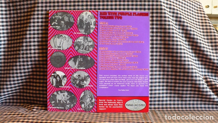 Discos de vinilo: Various ?– Red With Purple Flashes Vol. 2, Parka 2000. compilation.de originales. - Foto 8 - 171359348