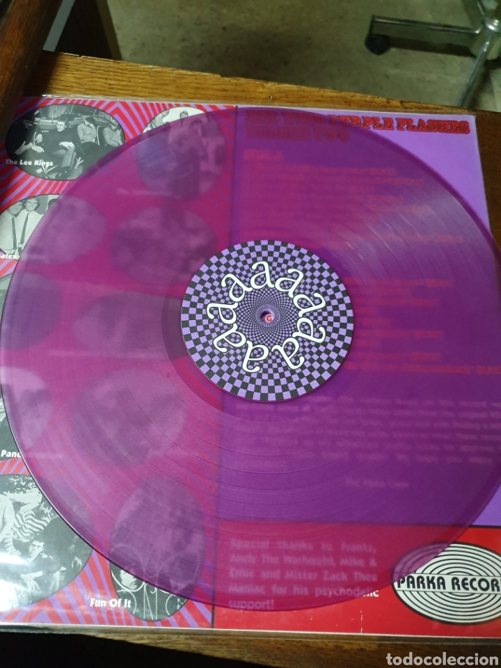 Discos de vinilo: Various ?– Red With Purple Flashes Vol. 2, Parka 2000. compilation.de originales. - Foto 3 - 171359348