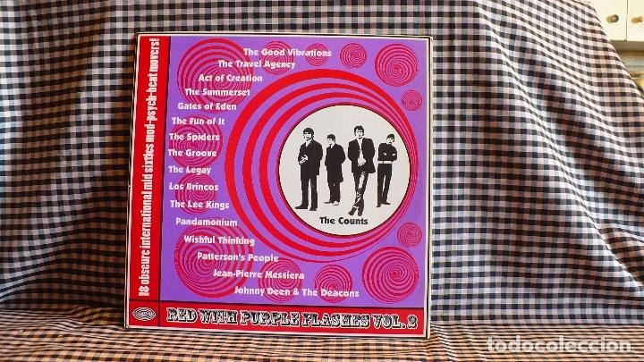 VARIOUS ?– RED WITH PURPLE FLASHES VOL. 2, PARKA 2000. COMPILATION.DE ORIGINALES. (Música - Discos - LP Vinilo - Rock & Roll)