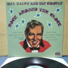 Discos de vinilo: BILL HALEY AND HIS COMETS - ROCK AROUND THE CLOCK GER. Lote 171361294