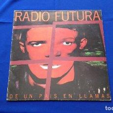 Discos de vinilo: VINILO RADIO FUTURA (DE UN PAIS EN LLAMAS). Lote 195337036