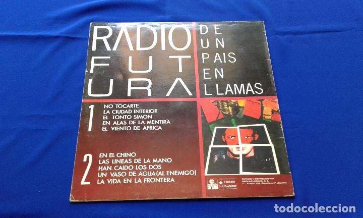 Discos de vinilo: VINILO RADIO FUTURA (DE UN PAIS EN LLAMAS) - Foto 3 - 195337036