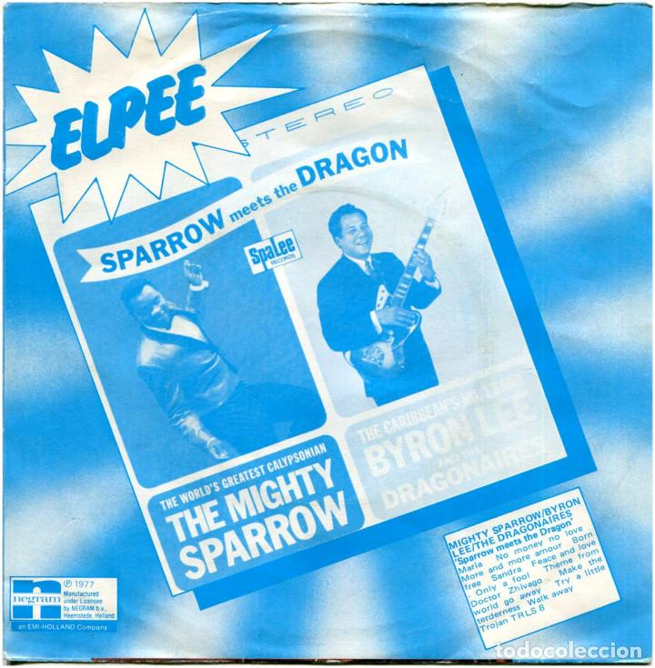 Discos de vinilo: Mighty Sparrow / Byron Lee And The Dragonaires – Only A Fool - Sg Holland 1977 - Trojan - Foto 2 - 171387158