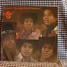 Discos de vinilo: JACKSON FIVE - LOOKIN THROUGH THE WINDOWS, TAMLA MOTOWN ?– STML 11214,(IE 062 O 93515), 1972, UK. . Lote 171388302