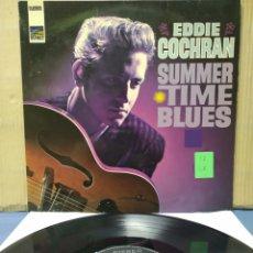 Discos de vinilo: EDDIE COCHRAN - SUMMERTIME BLUES 1966 GER. Lote 171388438