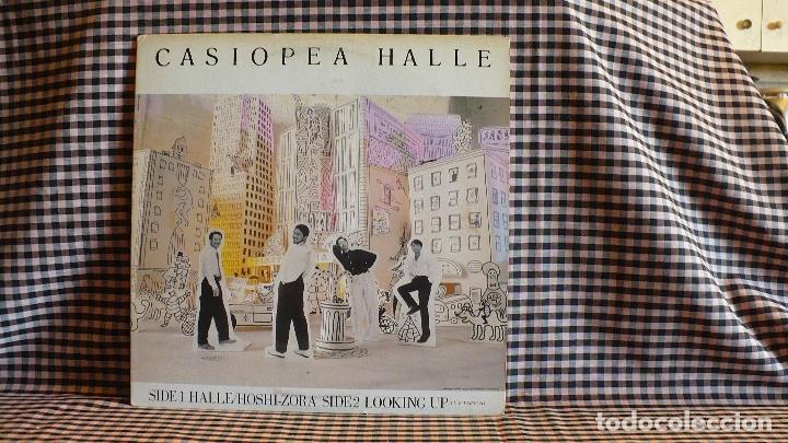 Discos de vinilo: casiopea - halle, Alfa ?– ALR-12003,1985, japon. jazz fusion. - Foto 2 - 171399108