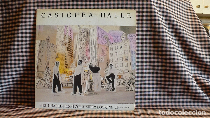 Discos de vinilo: casiopea - halle, Alfa ?– ALR-12003,1985, japon. jazz fusion. - Foto 4 - 171399108