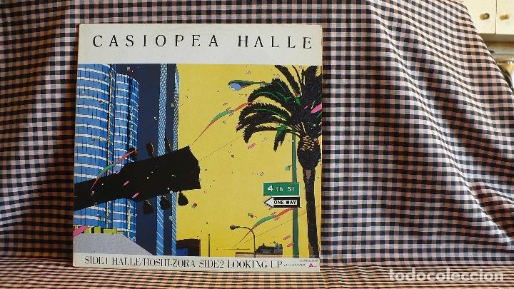 CASIOPEA - HALLE, ALFA ?– ALR-12003,1985, JAPON. JAZZ FUSION. (Música - Discos de Vinilo - Maxi Singles - Jazz, Jazz-Rock, Blues y R&B)