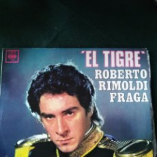 Disques de vinyle: EL TIGRE ROBERTO RIMOLDI FRAGA.. Lote 171399127