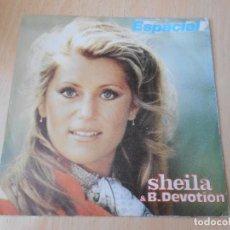 Discos de vinilo: SHEILA & B. DEVOTION, SG, ESPACIAL (SPACER) + 1, AÑO 1979 PROMO. Lote 171401485