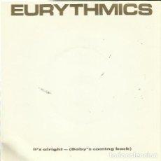 Discos de vinilo: EURYTHMICS. SINGLE. SELLO RCA. EDITADO EN INGLATERRA.. Lote 171409728