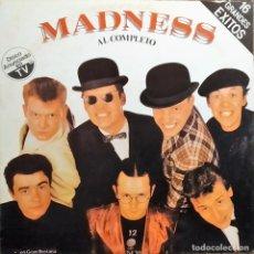 Discos de vinilo: LP VINILO MADNESS AL COMPLETO, RECOPILATORIO, ESPAÑA 1982, VICTORIA ?– 22LO411 5 , COMO NUEVO. Lote 171409842