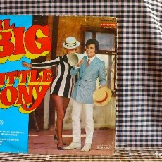 Discos de vinilo: LITTLE TONY ?– IL BIG LITTLE TONY, DURIUM, 7.081 - SV, VERGARA, 7.081-SV, 1968, . Lote 171410202