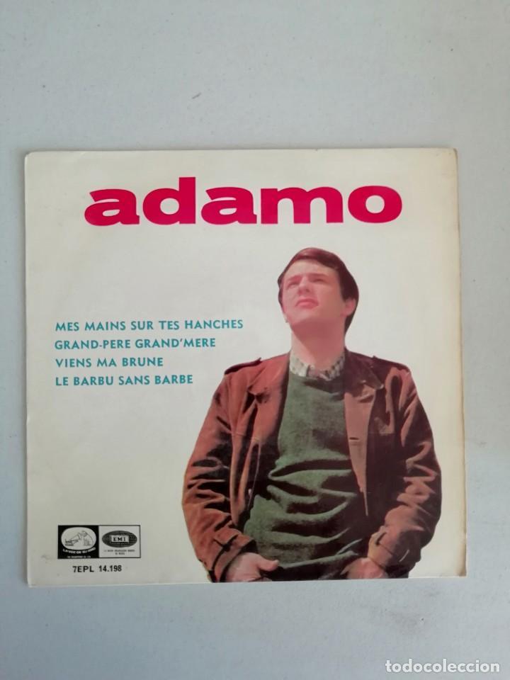 ADAMO MEIS MANS SUR TES HANCHES (Música - Discos de Vinilo - Maxi Singles - Solistas Españoles de los 50 y 60)