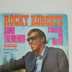 Discos de vinilo: ROCKY ROBERTS SONO TREMENDO. Lote 171412227