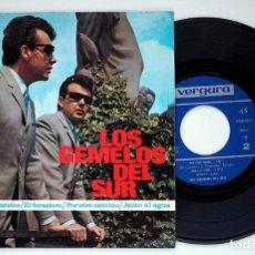 Discos de vinilo: LOS GEMELOS DEL SUR. CON LOS CINCO SENTIDOS. VINILO EP. 1967. Lote 171412484
