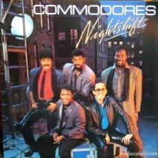 Discos de vinilo: LP VINILO COMMODORES: NIGHTSHIFT: PRIMERA EDICIÓN ORIGINAL USA 1985, MOTOWN ?– 6124ML , COMO NUEVO. Lote 171413153