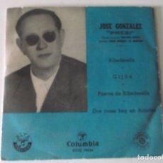 Discos de vinilo: JOSE GONZALEZ, PRESI, RIBADE SELLA,GIJON,PUENTE DE RIBADE SELLA,DOS COSAS HAY EN ASTURIAS. Lote 171422469