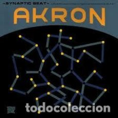 Discos de vinilo: AKRON - SYNAPTIC BEAT - A RESEARCH INTO MIND, CONSCIOUSNESS AND THE SELF BY - LP+CD. Lote 171429323