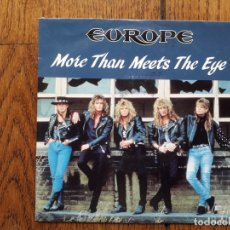 Discos de vinilo: EUROPE - MORE THAN MEETS THE EYE + DREAMER. Lote 171430057