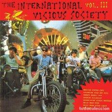 Discos de vinilo: VARIOUS - THE INTERNATIONAL VICIOUS SOCIETY VOL. III. Lote 171430962