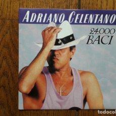 Discos de vinilo: ADRIANO CELENTANO - 24.000 BACI + DOLCE ROMPI. Lote 171431573