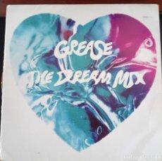 Discos de vinilo: GREASE THE DREAM MIX - POLYDOR, 1991. Lote 171360740