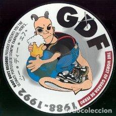 Discos de vinilo: GUARDA DE FERRO - THE WORST OF GUARDA DE FERRO 1988-1992 - PICTURE DISC. Lote 171437847