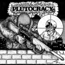 Discos de vinilo: PLUTOCRACY - SNIPING PIGZ - 2013 SIX WEEKS RECORDS REISSUE - WITH INSERT. Lote 171441525
