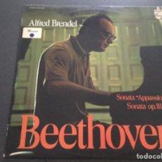 Discos de vinilo: ALFRED BRENDEL - SONATA APPASSIONATA - BEETHOVEN . Lote 171443047