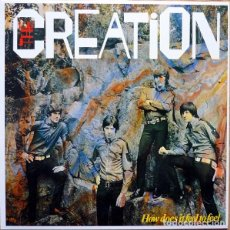 Discos de vinilo: THE CREATION - HOW DOES IT FEEL TO FEEL - 1998 GET BACK RECORDS MONO REISSUE. Lote 171444249