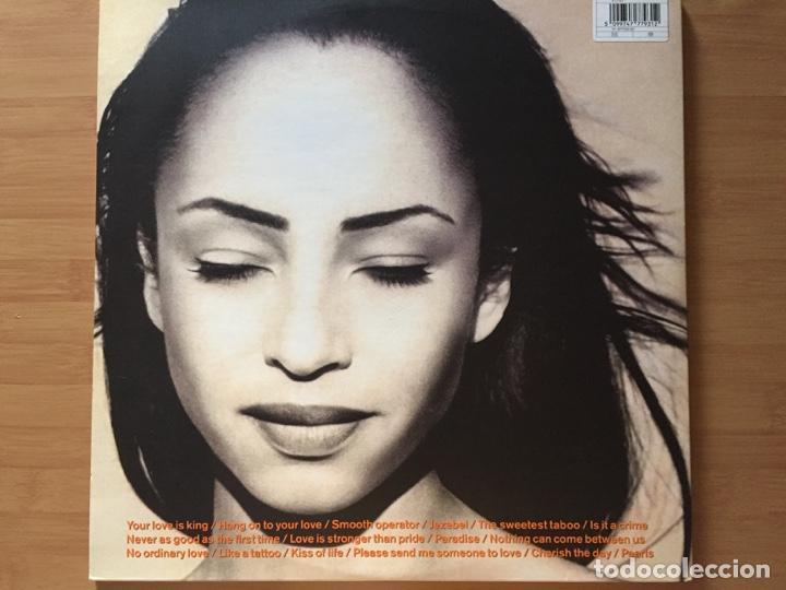 Discos de vinilo: SADE. The Best of SADE. (doble vinilo 1994) - Foto 2 - 171446754
