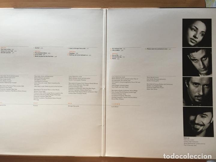 Discos de vinilo: SADE. The Best of SADE. (doble vinilo 1994) - Foto 3 - 171446754